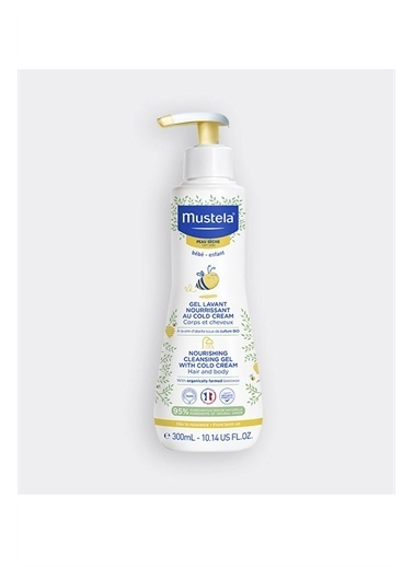 Mustela  Nourishing Cleansing Gel With Cold Cream 300 Ml Renkli